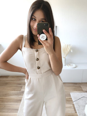 Sunday Lover Jumpsuit, beige