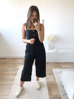 Sunday Lover Jumpsuit, schwarz