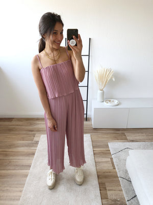 She's Perfect Jumpsuit, berry