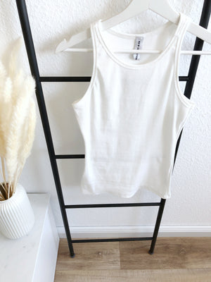Wifey Top, white