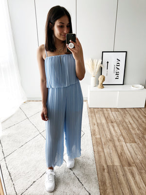 She's Perfect Jumpsuit, baby blue