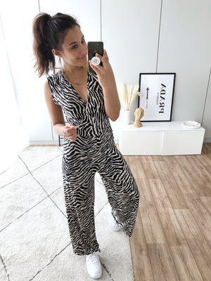 The Zebra Jumpsuit