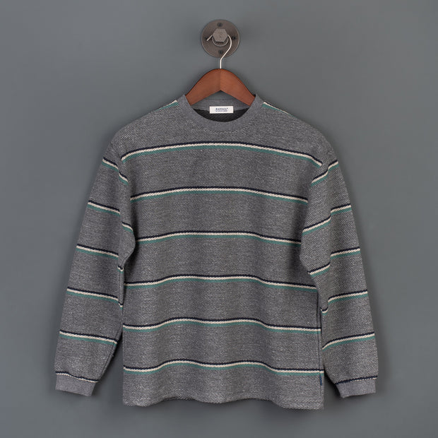 Skunk Crew Neck Sweater - Grey