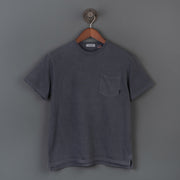 El Camino Crew Neck Pocket T-Shirt - Ink Black