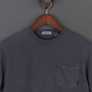 Radiall El Camino Crew Neck Pocket T-Shirt - Ink Black