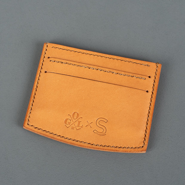 Sonder Supplies x OGL Natural Leather Card Holder