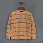 Skunk Crew Neck Sweater - Orange