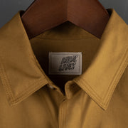 Nine Lives Mustard Monsoon Ventile Work Shirt