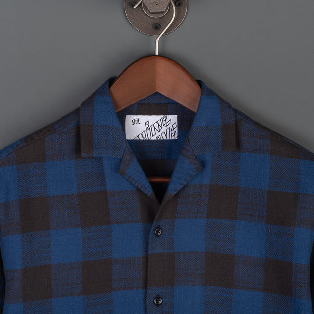 The Flannel 405 Long Sleeved Shirt - Blue/Black