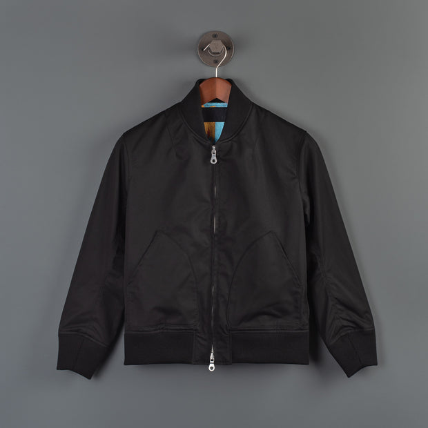 Nine Lives Black Kaiju Ventile Bomber Jacket