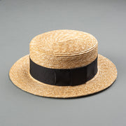 Boater Hat - Black
