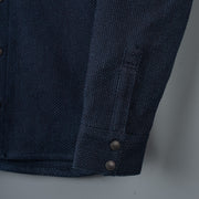 Nine Lives Indigo Kalamazoo Sashiko Work Shirt