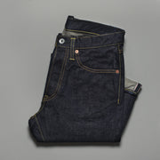 Iron Heart Indigo 14oz Selvedge Denim Super Slim 555 Cut Jeans