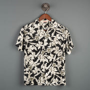 Duke Hawaiian S/S Shirt - Black