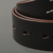 Tea Core Steerhide Belt - Black