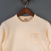 Naval Long Sleeve T-Shirt - Natural
