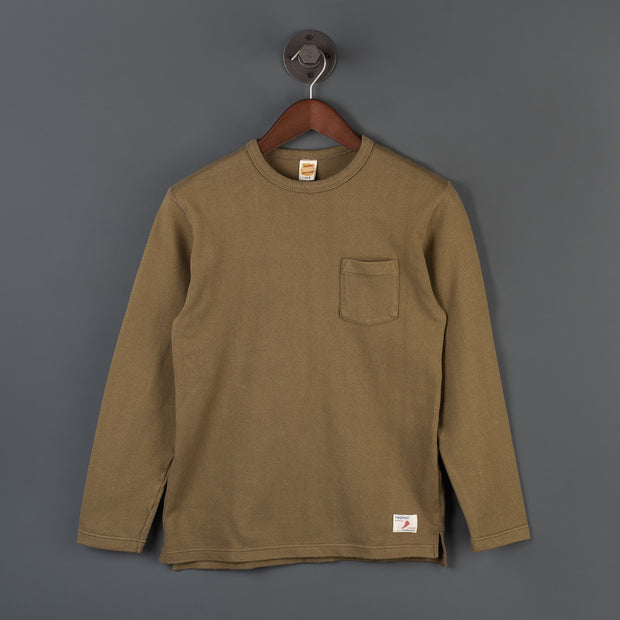 Naval Long Sleeve T-Shirt - Olive