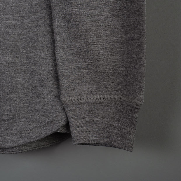 Nine Lives Legrasse Long-Sleeve Merino Grey Henley