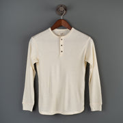 Nine Lives Legrasse Long-Sleeve Merino White Henley