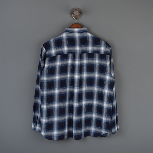 Mackten Long Sleeved Work Shirt - Indigo