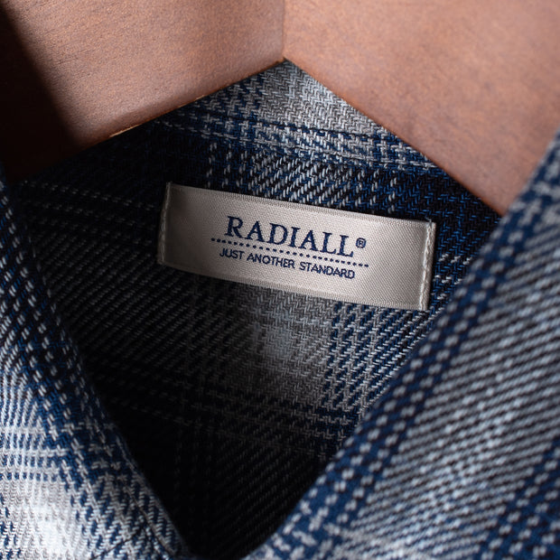 Radiall Mackten Long Sleeved Work Shirt - Indigo