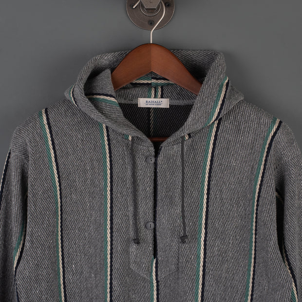 Radiall Skunk Hooded Sweatshirt - Grey