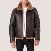 Sonder Supplies x Simmons Bilt Seal Brown Leather Flying Jacket - PRE ORDER