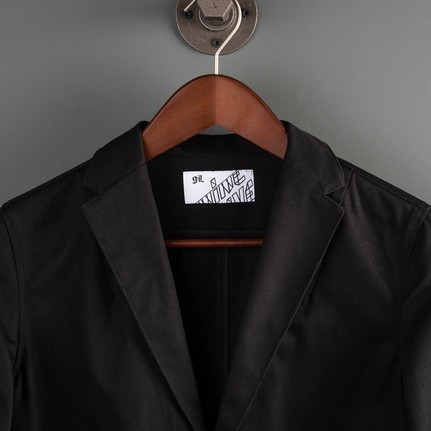 Souvenir Duster Coat - Black