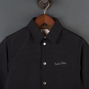 Box Logo Warm Up Jacket - Black