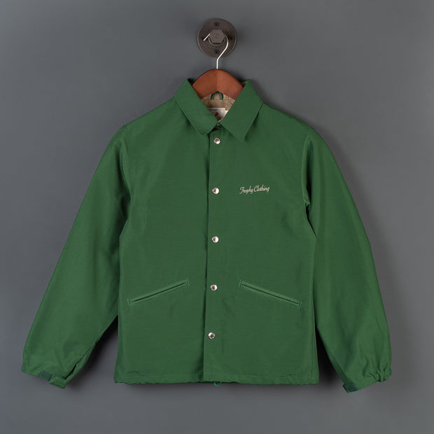 Box Logo Warm Up Jacket - Green