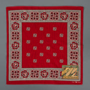 Marvel Selvedge Bandana - Turkey Red
