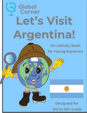 Load image into Gallery viewer, Let's Visit Argentina - 3rd to 5th Grade