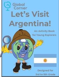 Let's Visit Argentina - 3rd to 5th Grade