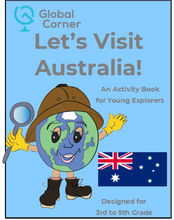 Load image into Gallery viewer, Let's Visit Australia - 3rd to 5th Grade