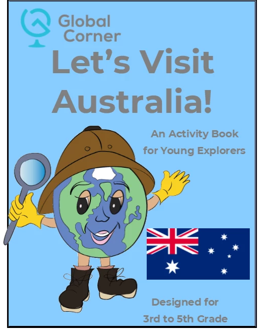 Let's Visit Australia - 3rd to 5th Grade