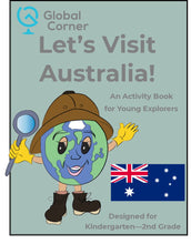 Load image into Gallery viewer, Let's Visit Australia - Kindergarten - 2nd Grade