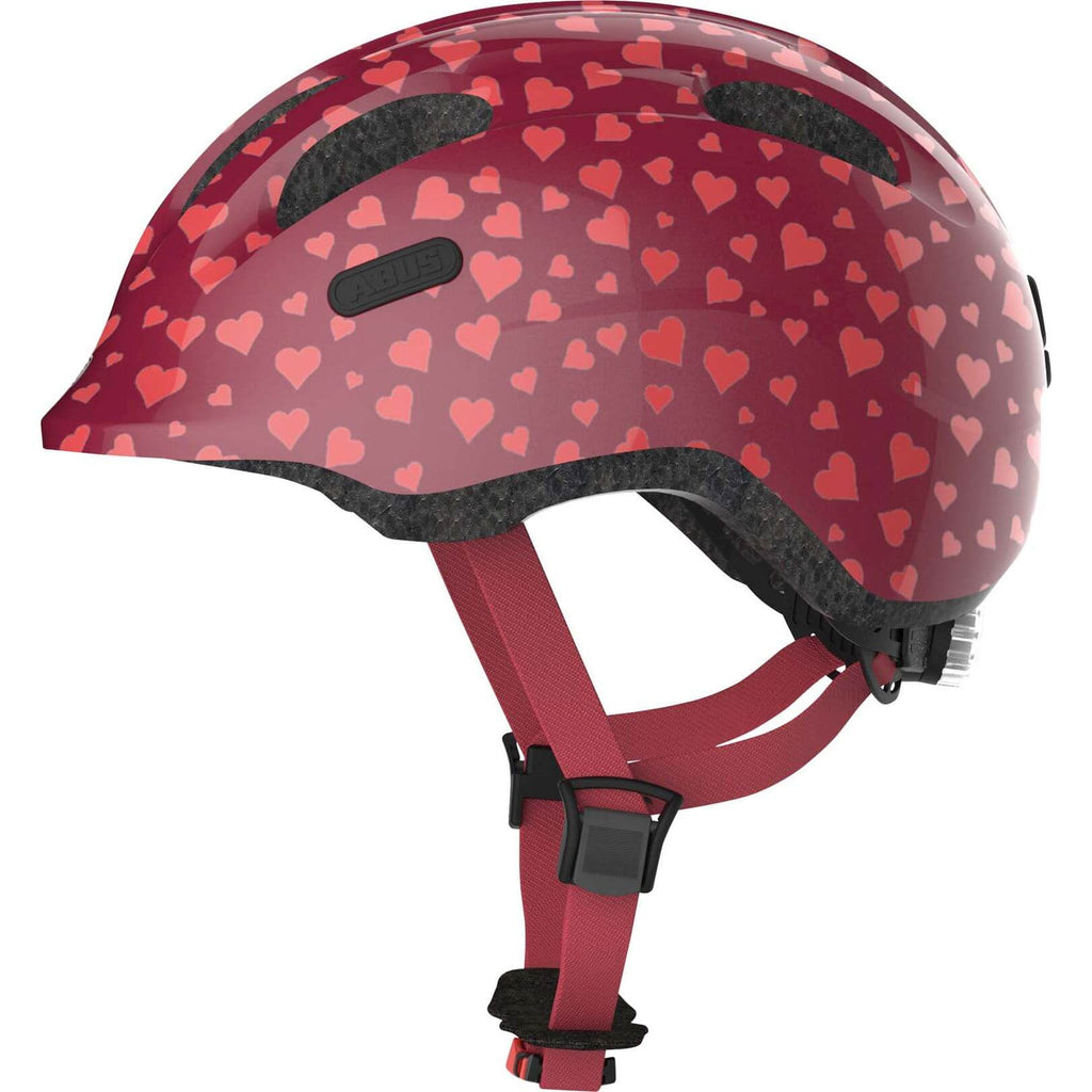 Abus helm Smiley 2.0 cherry heart - Olcay Belgium