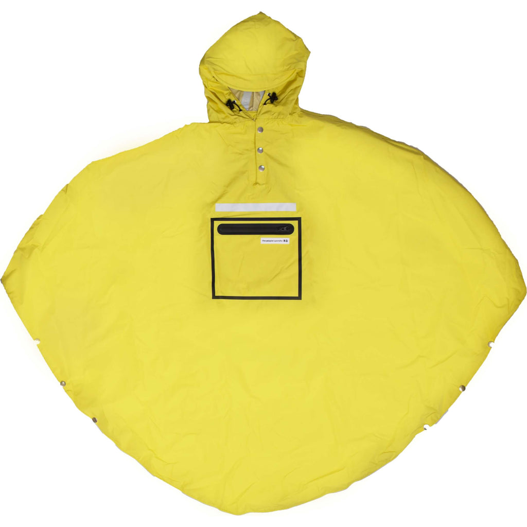 Peoples Poncho yellow volw - Olcay Belgium