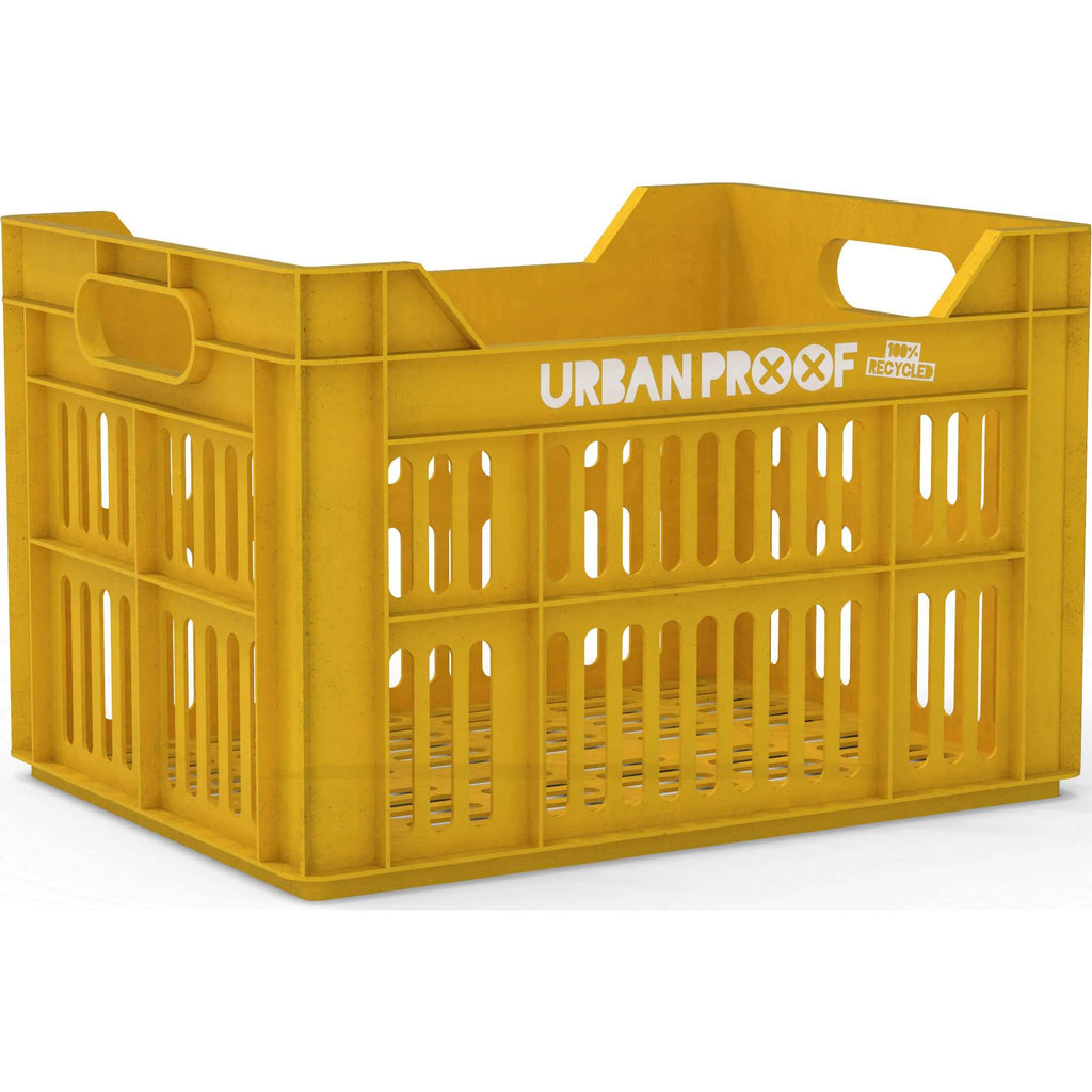UP Fietskrat 30L Ocre yellow - RECYCLED - Olcay Belgium