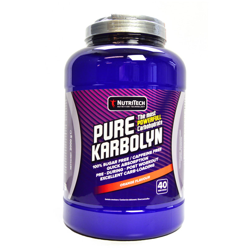 Pure Karbolyn Nutritechnology 1000g Fruit Punch - Olcay Belgium