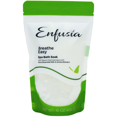 Breathe Easy 16 oz Bath Soak Front View