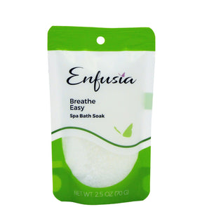 Breathe Easy 2.5 oz Salt Pouch Front View