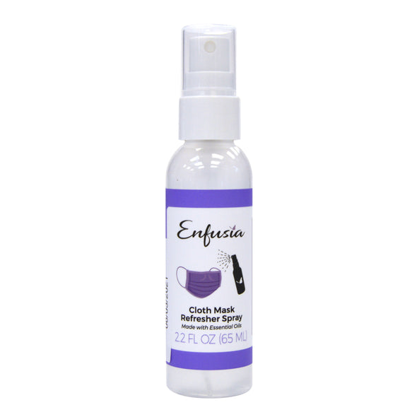 Cloth mask Refresher Spray made with pure essential oils covid essential