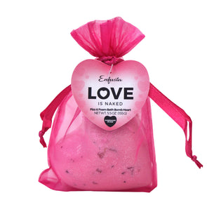 Love is Naked - Bath Bomb Heart