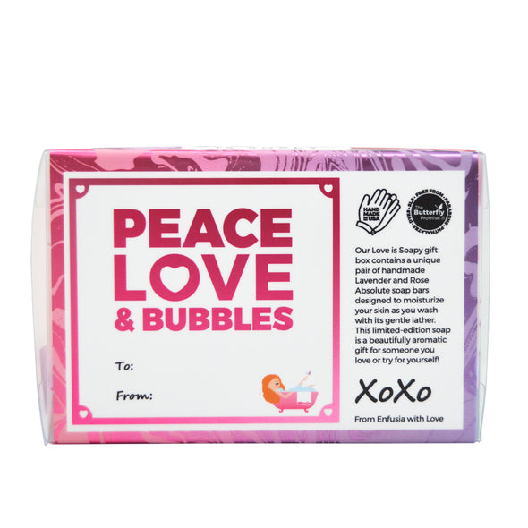 Love is Soapy (5 oz) - Lavender & Rose