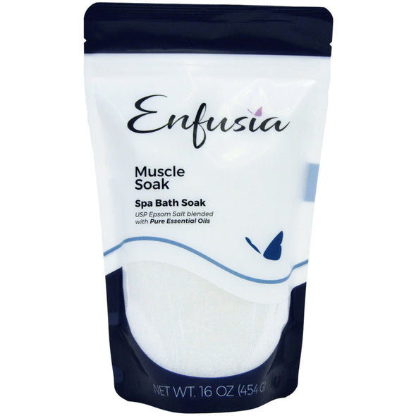 Muscle Soak 16 oz Bath Soak Front View