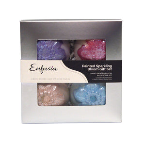 Painted Sparkling Bloom Gift Set