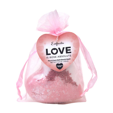 Love is Rose Absolute - Bath Bomb Heart