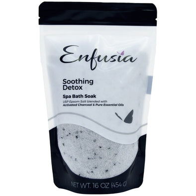 Soothing Detox 16 oz Bath Soak Front View