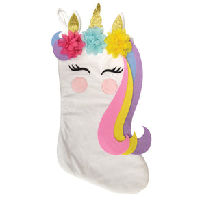 Stuffed Stocking - Unicorn Heart
